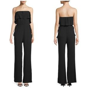Astr The Label Paloma Ruffle Pant Jumpsuit S NWOT